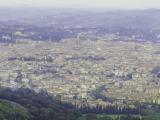フィエーゾレの丘からの遠望