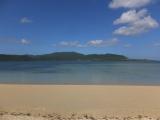 細崎(くばざき)海岸 対岸は西表島
