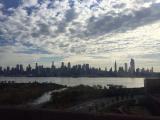 道中に見られたマンハッタンの景色