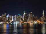 ハミルトンパークからマンハッタンを望む