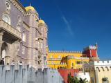 ペナ宮殿。お天気にも恵まれてよかった。