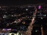 ラテンアメリカタワーの夜景