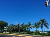 グアムの景色です。このような写真も比較的サクサクと送ることができました。