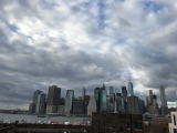 ブルックリンから見たマンハッタン
