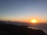 日の出直後