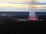 キラウエア火山です。