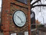 グリニッジの 24時間時計