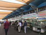 アブダビの市場