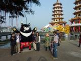 高雄は熊本と姉妹都市でくまもんの兄弟のパンツをはいたカオシュンシュンです。