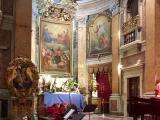開演前のカラヴイタ教会