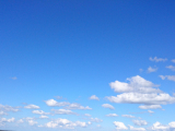 青みが見てとれる遠景