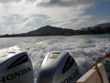 スピードボートでタオ島へ出発