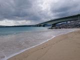 絶景の古宇利大橋