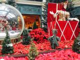 年末でしたが、まだクリスマスのデコレーションがされていました。