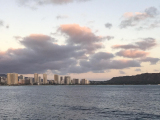 View of Diamond Head from Star of Honolulu