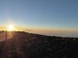 ハレヤカラ山頂の夕日 日没前