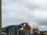 曇っていましたがプールは空いていて乗り放題で楽しめました!