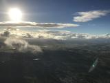 優雅に朝日を眺めながらふわふわ飛行