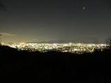 空気が澄んでおり大阪市街まで見渡す事が出来ました。金星も美しく輝いていました。