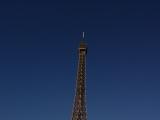 エッフェル塔。お天気よくて綺麗に見えました