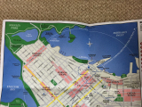 当日配布された地図です