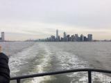 フェリーから見たマンハッタン島
