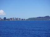 船上からのホノルルの景色も最高でした!
