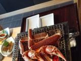 焼き蟹は個別に焼いてくれます!