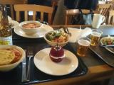 ロンドン塔での昼食