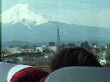 富士山漸漸靠近