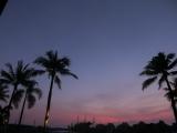 集合時間の空は朝焼け真っ只中
