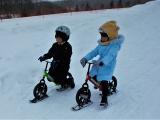 (自費)小孩限定雪上划步車!