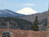 富士山の様に見えるセントアダムス山