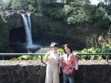 レインボー滝、水量も十分