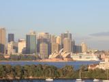 テントより、シドニーの景色
