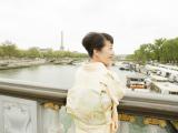 撮影場所は大好きなアレクサンドル三世橋を希望
