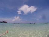 パヤ島の浅瀬