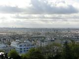 モンマルトルの丘からのパリ市内