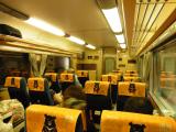 特急列車の様子