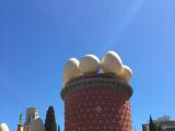 卵の屋根のダリ美術館
