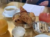 アラン デュカスで朝食