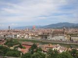 ミケランジェロの丘からフィレンツエの街を眺望