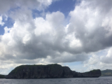 タートル島 亀の形してます