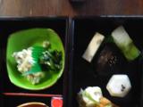 泉仙さんの精進料理です