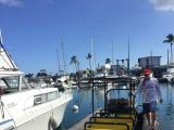 このボートで出発しました。