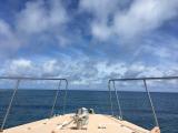 船の上から