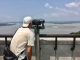 無料の望遠鏡で北朝鮮がよく見えました!