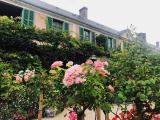 花と家、素敵なバランス