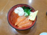 海鮮丼~~憑導遊給的折價券可以打9折!