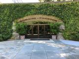 DOMAINE CHANDONの入り口。午前中からシャンドンが飲めるのはとても贅沢で幸せ。